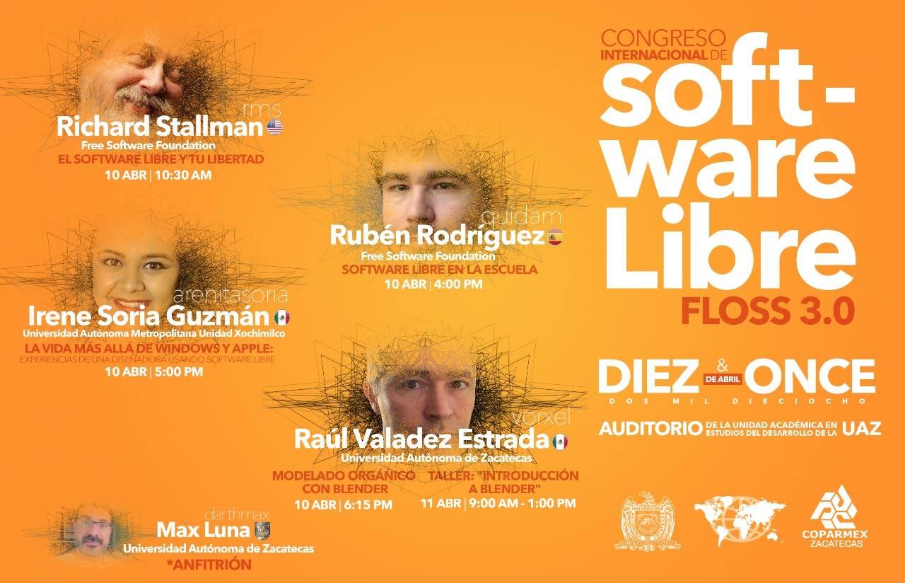 Congreso Internacional de Software Libre FLOSS 3.0